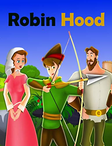 Couverture du livre Robin Hood: English Cartoon | Moral Stories For Kids | Classic Stories (English Edition)