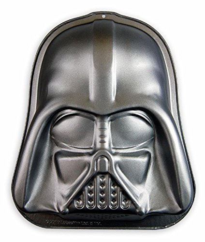 Star Wars Backform Darth Vader aus teflonbeschichtetem Carbonstahl