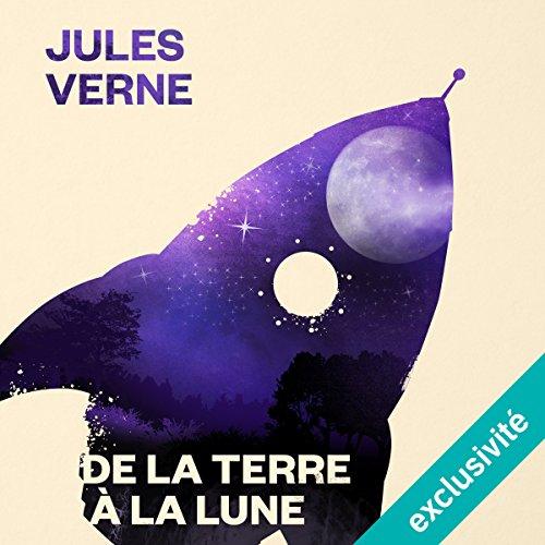 De la Terre à la Lune audiobook cover art