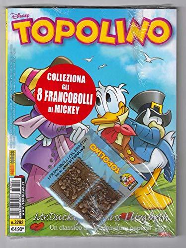Topolino Libretto N° 3292 con Francobolli Disney Panini Comics - Italiano