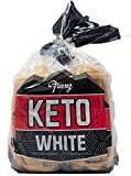 An excellent source of Fiber and Low in Fat An excellent source of Fiber and Low in Fat A Great Choice for Anyone Trying to Limit Their Carbs ONLY 40 Calories per Slice! An Easy Choice for Anyone on the Keto Diet