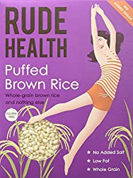 Whole-grain brown rice and nothing else Clean ingredients Low fat No refined sugars, no added salt, no artificial anythings, non-gm, gluten-free No added sugar - contains natural sugars from rice
