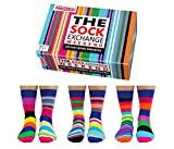De La Marca United Oddsocks - Caja De Regalo 6 x Calcetines Coloridos Desparejados Para Hombre EU 39-46 (Weekend)