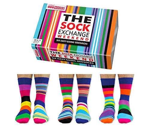 United Oddsocks / Sock Exchange Weekender Socken / 6er Set, verschieden faerbig, ungerade