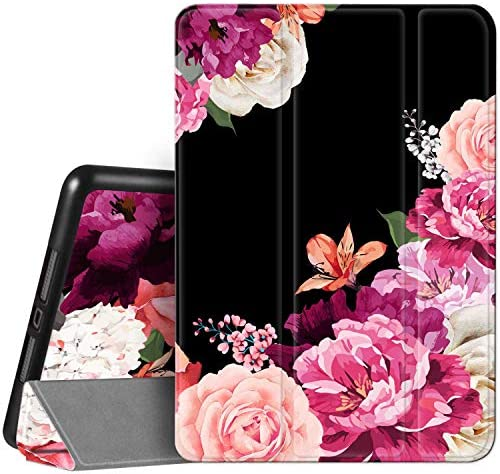 Hepix iPad iPad Air 3 Case Floral Purple Pink Penoy Flowers iPad 3rd Gen Case 10 5 2019 Slim product image