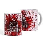 Elbenwald Tazza Kill Zombie - Tazza Tratta dal Telefilm The Walking Dead - Bianca - Ceramica