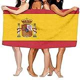HRHRTJKTJ - Toalla de baño, diseño de la Bandera de España