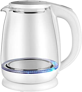 غلاية كهربائية زجاجية، 1.8 لتر، غلاية LED للتحكم في درجة الحرارة، تحافظ على غلاية الماء اللاسلكية، غلق تلقائي، 100% خالية ...