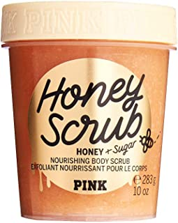 Pink Honey Scrub - Honey and Sugar Nourishing Body Scrub 10 oz.