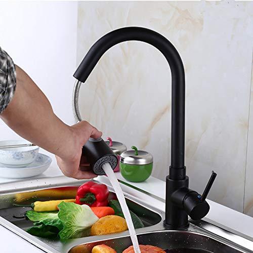 Grifo de cabezal de rociado giratorio de 360 grados Grifo duradero Boquilla de filtro de salpicaduras 3 modos Grifo de cocina Boquilla Grifo de filtro Grifo