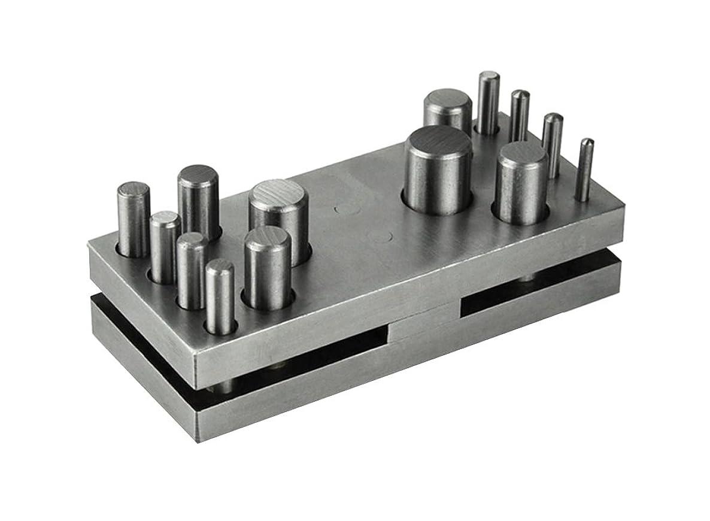 PMC Supplies LLC 14 Piece Circle and Round Disc Cutter Set - 1/8