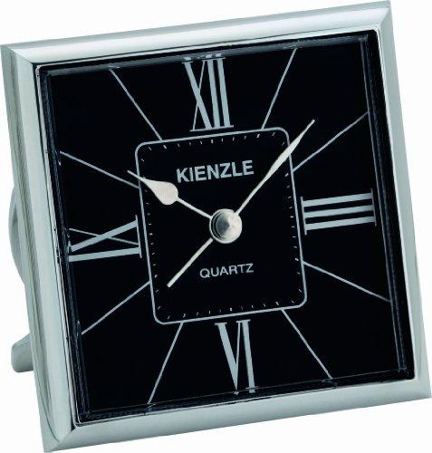 KIENZLE Quarzreisewecker RETRO Quartz Standfuß, Ziffernblatt Schwarz V81097142980