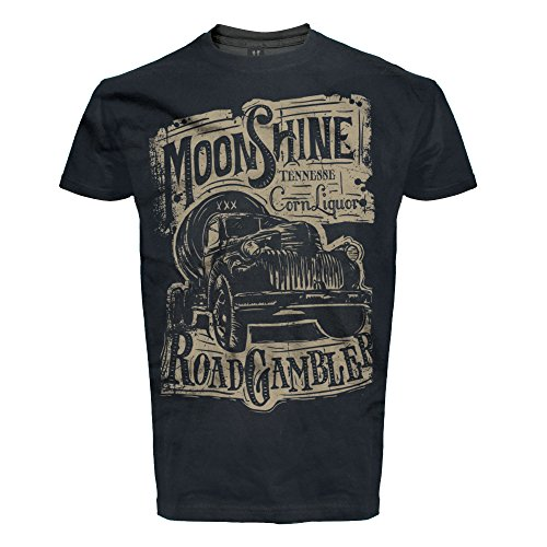 T-Shirt Rock'n'Roll, Pick Up, Schnaps, Moonshine
