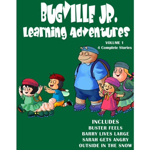 Bugville Jr. Learning Adventures Collection #1 audiobook cover art