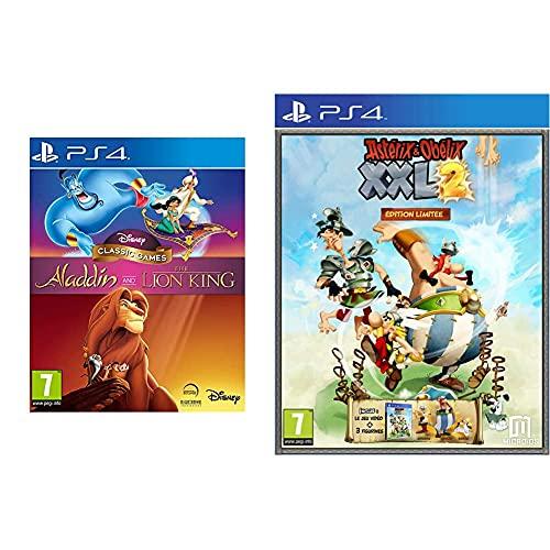 Disney Classic Games - Aladdin and The Lion King pour PS4 & Astérix & Obélix XXL 2