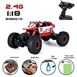 Jack Royal Rock Crawler 4 WD RC - Rally Car (1:18 Scale) (red)