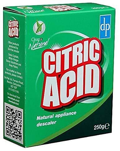 2 x acido citrico, anticalcare per dispositivi naturali, 250 g