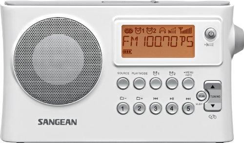 Sangean PR-D14 AM / FM-RDS Portable Radio with USB MP3 / WMA Playback