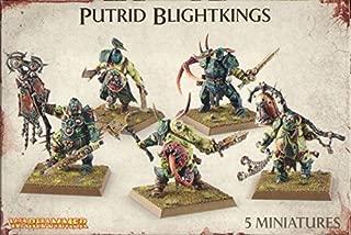 Games Workshop 99120201041 Nurgle Rotbringers Putrid Blightkings Tabletop and Miniature Gaming