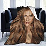 Fleece Blanket Jennifer Lopez Bed Linen Microfiber Lightweight Sofa Warm Yoga Mats Super Soft Luxury Cozy Blankets Throw Size 50x40 60x50 80x60 Inch,60'x50'