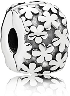 Pandora Women's Daisy Flowers Charm - 925 Sterling Silver, 790533