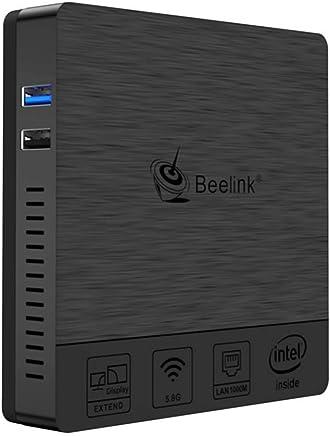 Beelink BT3 PRO II Mini PC Intel Atom x5-Z8350 Processore DDR3 da 4GB/64GB 3D EMMC/Dual Band WiFi/Intel HD Graphics / 4K /HDMI + VGA Doppio Display Windows 10 Mini PC - Confronta prezzi