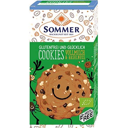Sommer Cookies mit Vollmilch und Haselnuss, 125 g