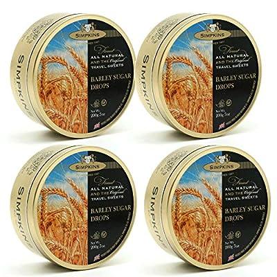simpkins barley sugar travel sweets 200g (4 pack) Simpkins Barley Sugar Travel Sweets 200g (4 Pack) 51Hi5whcx5L