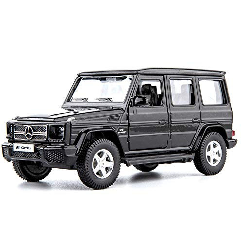 TGRCM-CZ 1/36 Scale G63 Casting Car Model, Zinc Alloy Toy Car for Kids, Pull Back Vehicles Toy Car for Toddlers Kids Boys Girls Gift (Black)