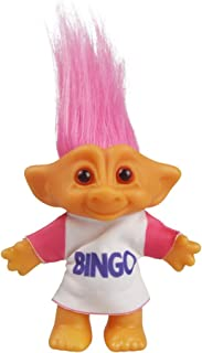Vintage Troll Dolls, Lucky Doll Chromatic Adorable for Collections, School Project, Arts and Crafts, Party Favors - 7.5