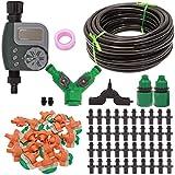 ZDG Dispositivo de riego automático de inducción de la Lluvia Familia Balcón Irrigación por Goteo Sistema de microinyección de atomización (Tamaño : 25M Set)