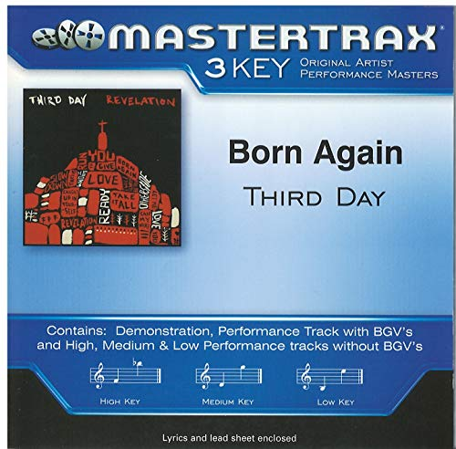 Born Again by Third Day Accompaniment Track
