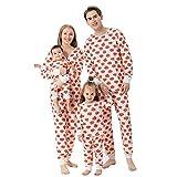 Alueeu Conjunto de Pantalón y Pijama con Estampado Otoño Invierno Lindo Víspera de Todos los Santos Trajes Familiar Padres Hijos Arbol Infantil Niños Hombre Mujer