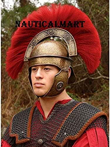 venta caliente Medieval Medieval Medieval Armor casco romano Centurio con escudo por Nauticalmart  punto de venta en línea