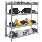 Propac z-skec2z estantes de acero galvanizado, 200x 150cm