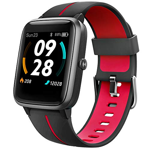 """UMIDIGI Reloj Inteligente con GPS,Smartwatch Hombre Mujer Niños con Monitor de Frecuencia Cardíaca, Esfera Personalizada, 1.3"""" Pantalla Táctil Impermeable Reloj Deportivo para Android iOS"""