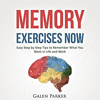 Memory Exercises Now audiobook cover art