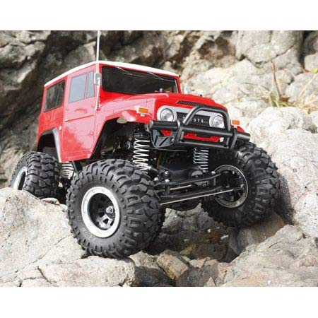 RC Auto kaufen Monstertruck Bild 4: TAMIYA 300058405 - Toyota Land Cruiser 40, ferngesteuertes Offroad Fahrzeug, 1:10, Elektromotor, Bausatz*
