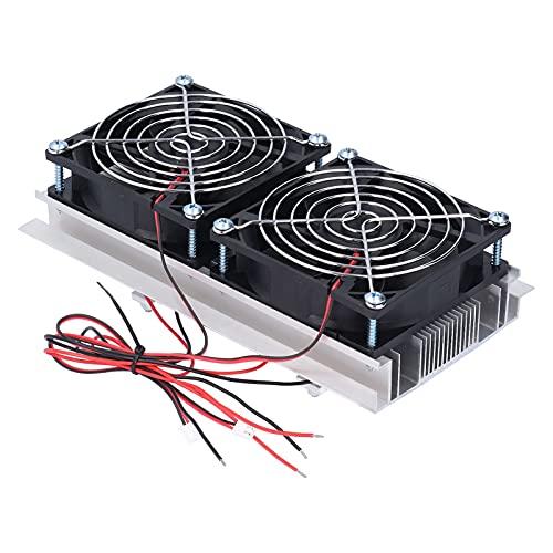 KAKAKE Refrigeración por semiconductores, refrigeración en Espacios reducidos Sistema de refrigeración Buena practicabilidad Doble núcleo para refrigeración Plana para la refrigeración de Camas de