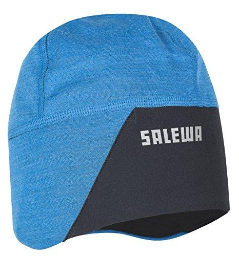Salewa - Windblock Wo Beanie, Mütze Unisex - Erwachsene, Unisex, Beanie-Mütze, 00-0000024334, Blau (Davos), L