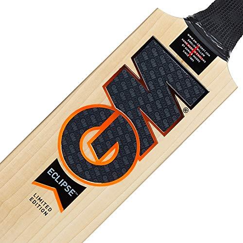 Gunn & Moore 404 Cricketschläger, Unisex, Schwarz/Orange, Harrow