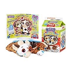 """Discover NEW Taste Budditos Milk & Cookies! Unroll 2 soft best friends and discover everything about them. What will your Budditos look like? Cutetitos Taste Budditos Milk & Cookies comes with a Cowito and a Puppito! What will their """"Heart Spot"""" rank..."""