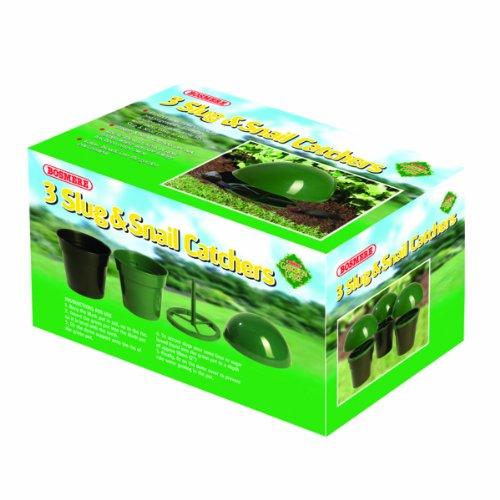 Bosmere Products Ltd Piège à Escargot et limace n506 (3 pièces)