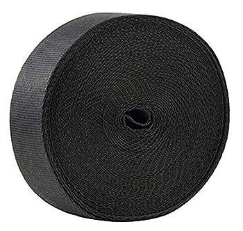 10 Yards 1 Inch Wide Black Nylon Heavy Duty Webbing Strap