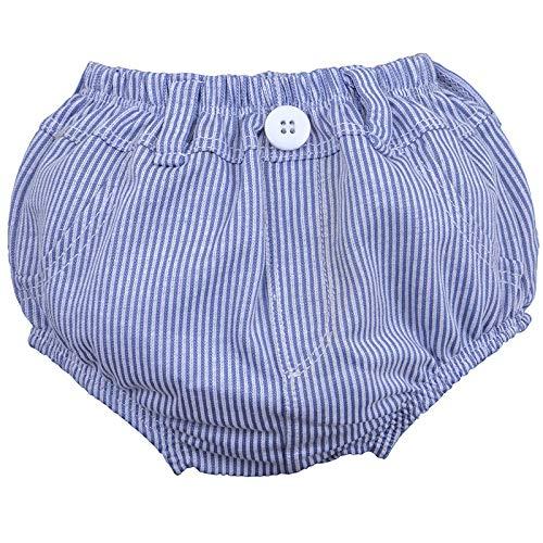 Cuecas (cobre fralda), Zip, listrado bco/azul