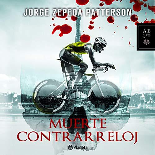 Diseño de la portada del título Muerte contrarreloj
