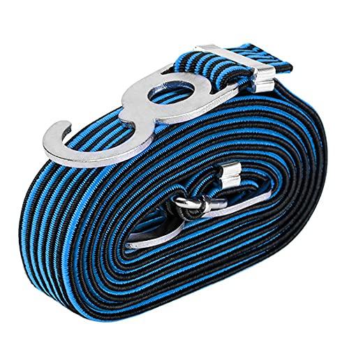 Correas De Goma Elástica del Equipaje, Cables Largos Cordones De Moto Cuerda Correas Bungee Correas con Ganchos Cuerdas De Trabajo Pesado Cinturones
