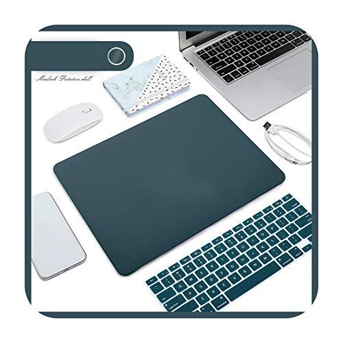 Funda mate para ordenador portátil + protector de teclado para MacBook Air 13 2020 Retina Pro 13 15 A2159 MacBook Pro 16 A2141-I-13.3Pro Retina A1425