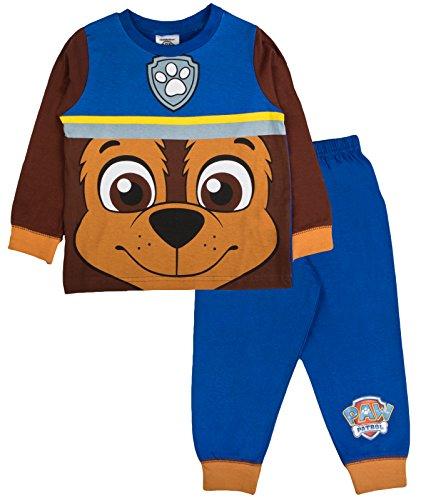 Pyjama long pour enfant PatPatrouille - Bleu - 4 ans