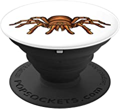 Tarantula Spider on White Background - PopSockets Grip and Stand for Phones and Tablets